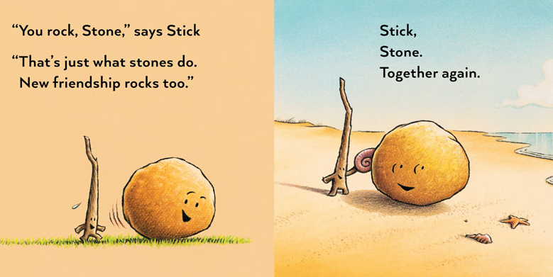"Page from ""Stick and Stone"""